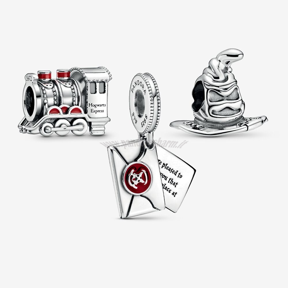 Crea Il Tuo Harry Potter Journey To Hogwarts Charm Pack pandoracharm