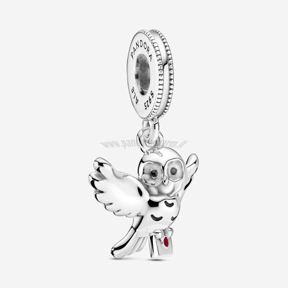 Crea Il Tuo Harry Potter, Hedwig Owl Dangle Charm pandoracharm
