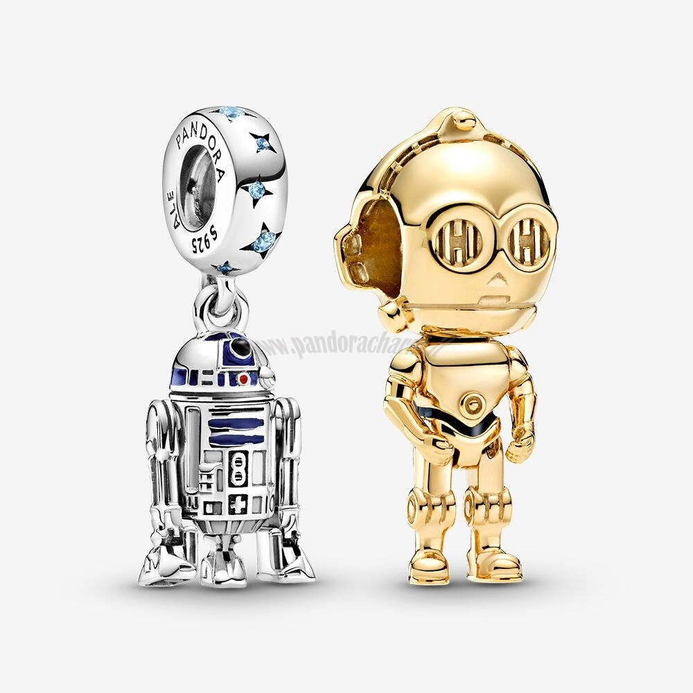 Crea Il Tuo Disney Star Wars Droid Fascino Pack pandoracharm