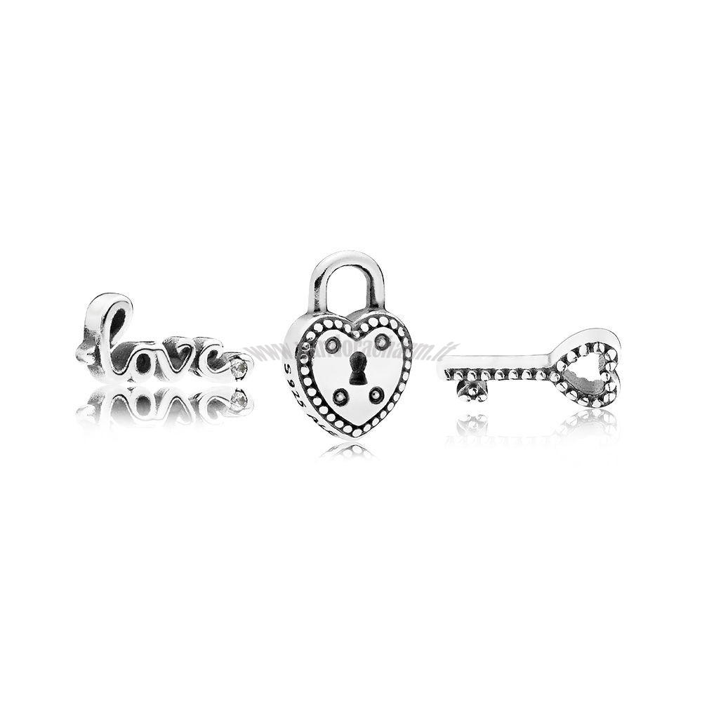Crea Il Tuo Key To My Heart Petite Charm Pack pandoracharm