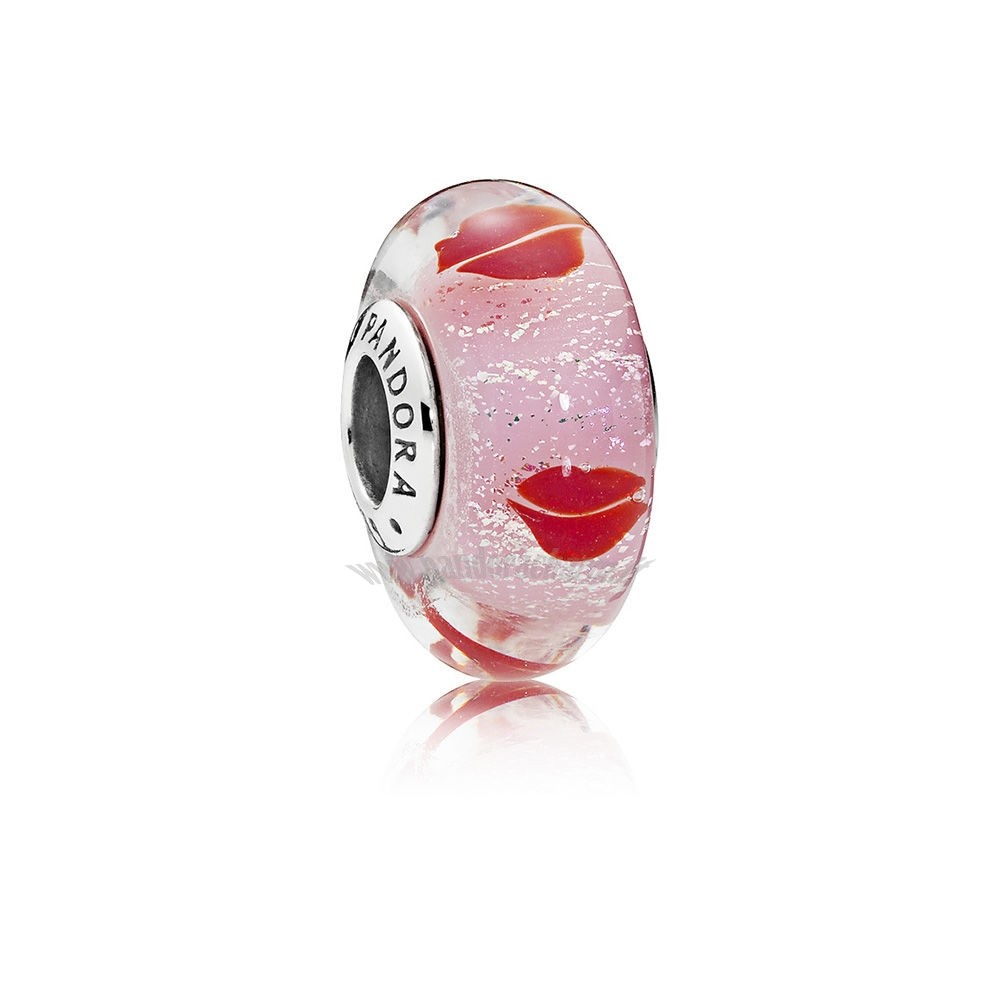 Crea Il Tuo Bacioes All Around Charm Murano Glass pandoracharm