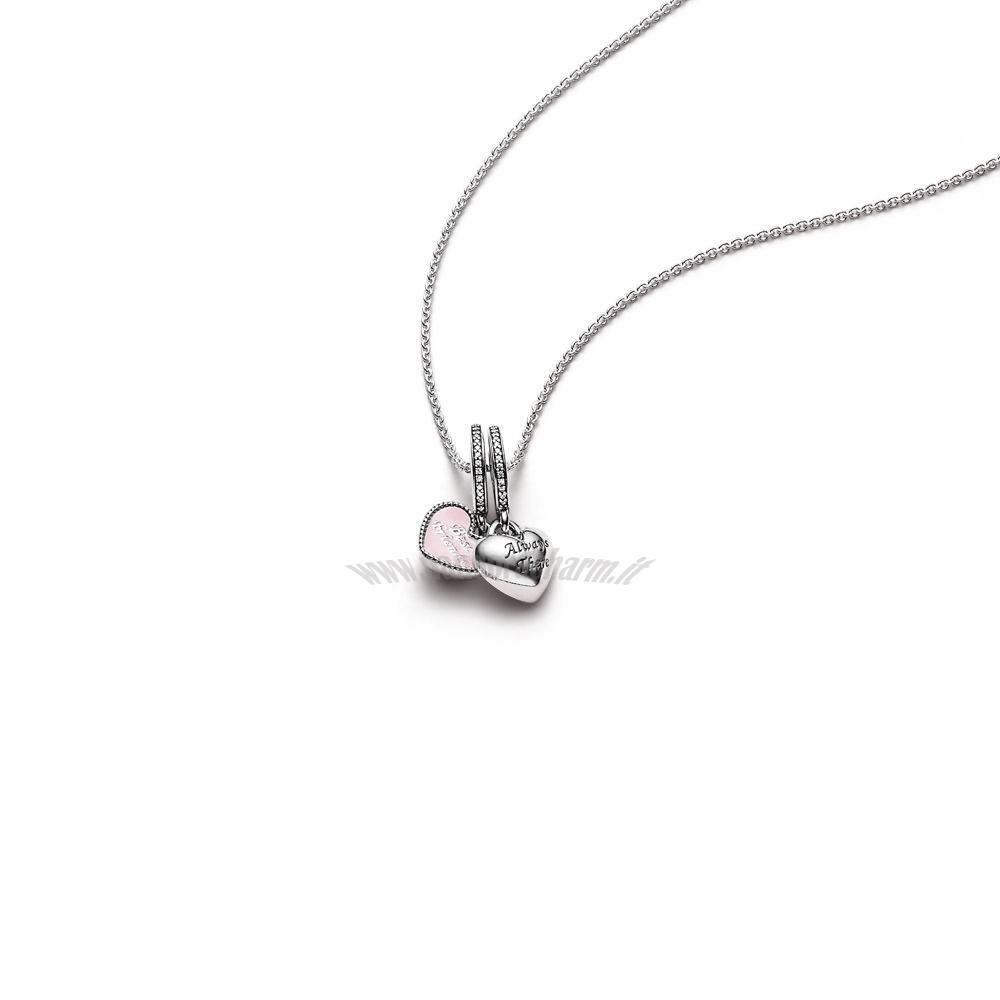 Crea Il Tuo Best Friends Pendant And Necklace pandoracharm