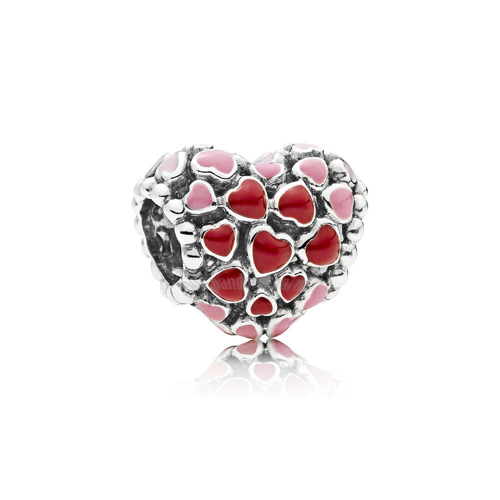 Crea Il Tuo Burst Of Amore Charm Mixed Enamel pandoracharm