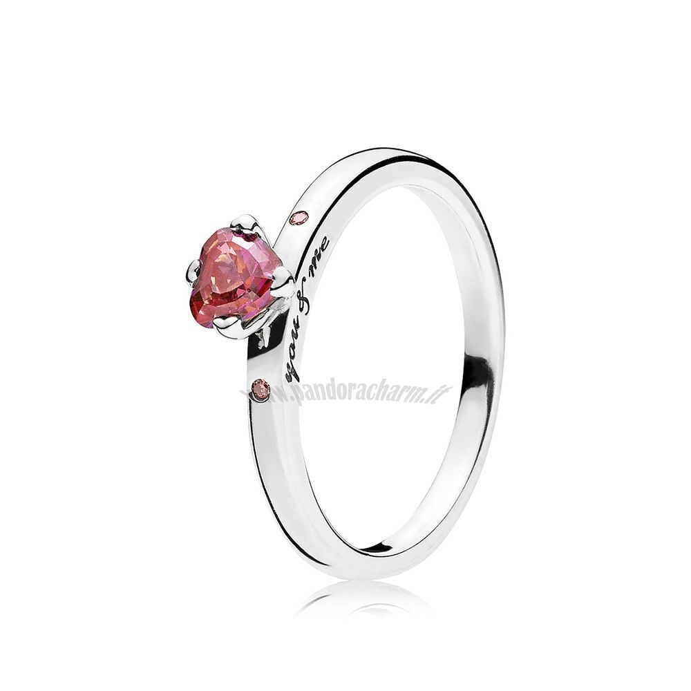 Crea Il Tuo You Me Anelli Multi Colored Charm pandoracharm