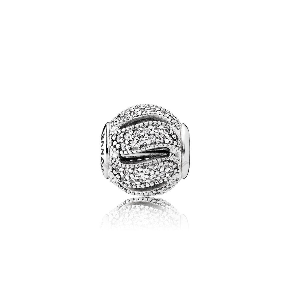 Crea Il Tuo Pandora Essenza Loyalty Charm Clear Cz pandoracharm
